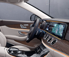 Приборка W213 Mercedes Comand Online 5.5
