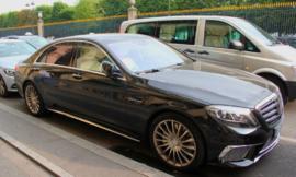 Пороги W222 AMG Mercedes X222