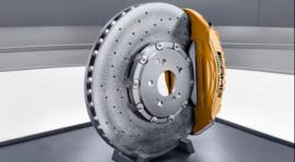 Ceramic composite braking system GLS 63 AMG X167
