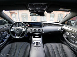 Карбоновый салон W217 S63 AMG