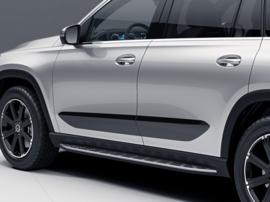 Боковая облицовка Mercedes Sport GLS X167