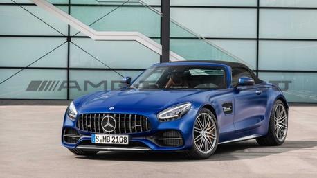 Рестайлинг Mercedes-AMG GTС C190
