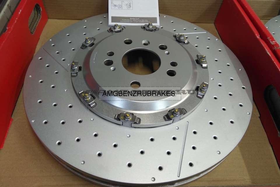 Двусоставные тормозные диски AMG GLE GLS ML