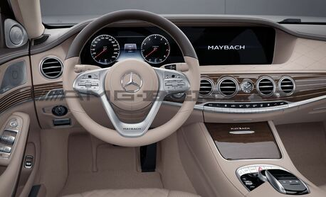 Руль Майбах W222 Mercedes Restyling