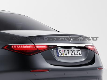 Спойлер багажника W223 S-Klass