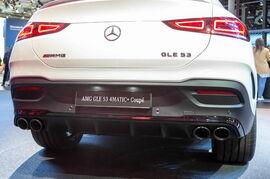 Диффузор GLE 53 AMG Coupe