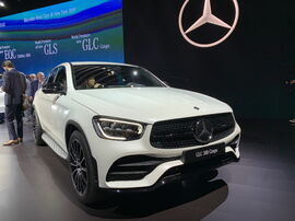 Рестайлинг GLC COUPE C253 Mercedes