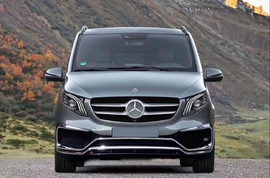 Фары W447 Mercedes V-Klass
