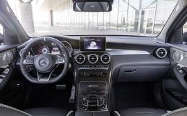 Карбоновые детали салона Mercedes GLC