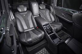 Установка комфортных сидений GLS Mercedes