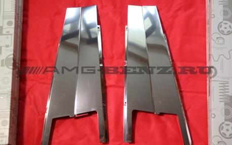 Накладки дверей хром Maybach W222