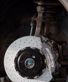 Тормозная система Brembo AMG GLC