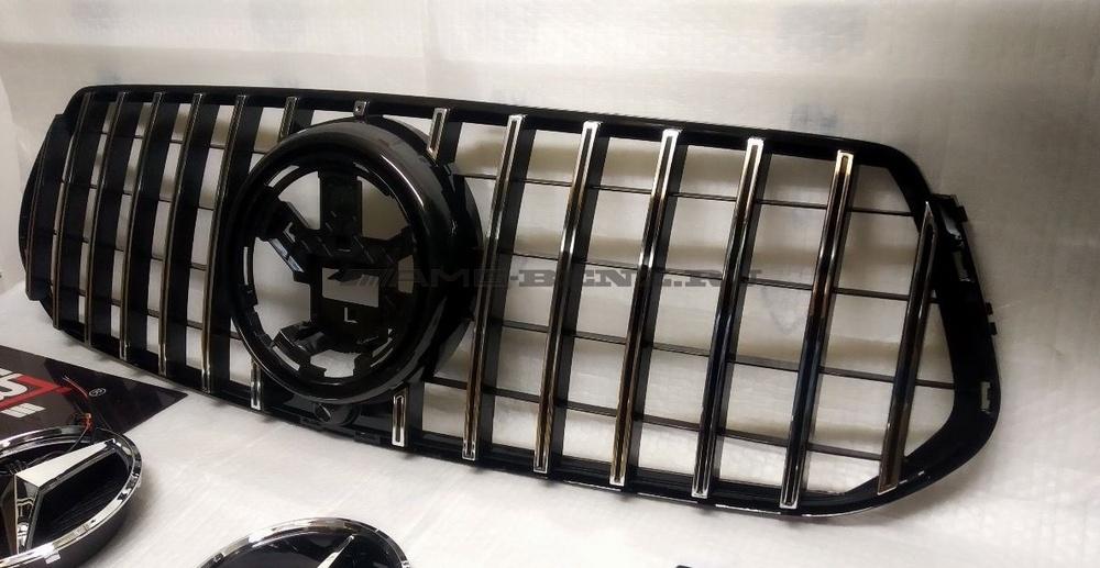 Решетка радиатора GLE 63 AMG V167