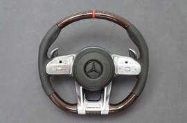 Тюнинг руля Mercedes AMG Carbon