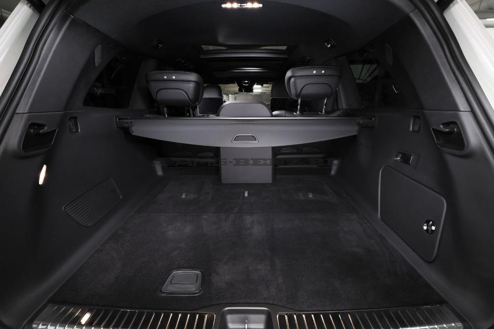 Сиденья GLS Maybach X167 Mercedes