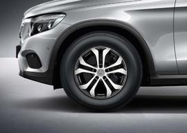 Зимние колеса в сборе Mercedes GLC R17