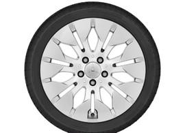 Литые диски Merceds-benz GLE W166 R17-2