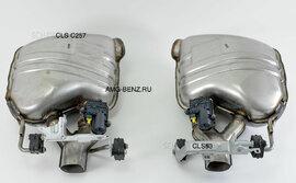 Выхлоп CLS 53 AMG Performance C257