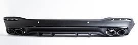Диффузор GLE 53 AMG V167 с насадками AMG