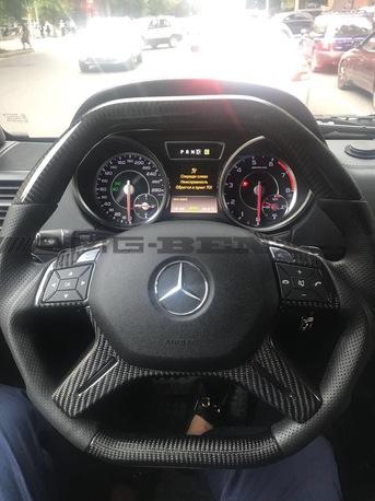 Карбоновый руль Mercedes AMG