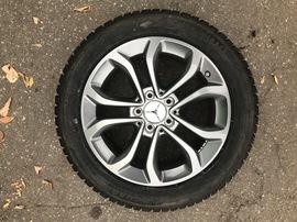 Зимние колеса W205 R17 Mercedes C205