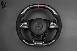 Рулевое колесо W212 Carbon