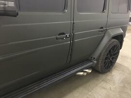 Титановый выхлоп G63 AMG Mercedes
