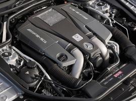 Двигатель AMG V8 M157 Mercedes