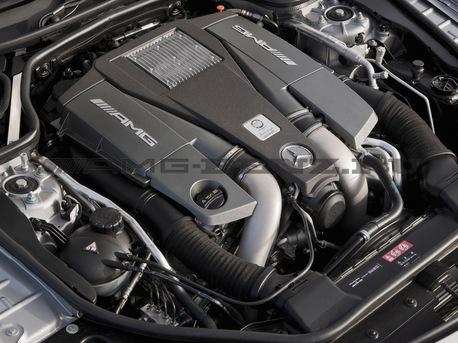 Мотор Mercedes M157 6,3 AMG V8