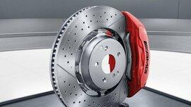 Тормозные диски W222 S63 AMG