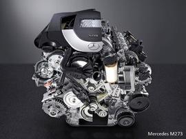 Двигатель Mercedes M273 V8 5.5
