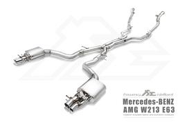 Глушители AMG W213 E63 Fi Exhaust