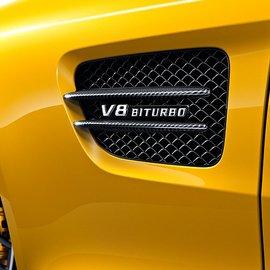 Фендер AMG GT C190 Карбон
