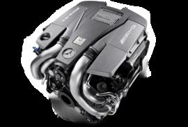 Двигатель M157 AMG V8 5.5л битурбо