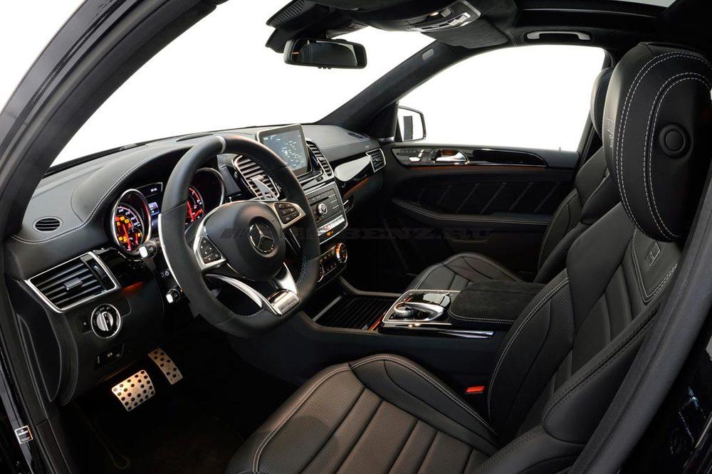 Сиденья GLE 63 AMG W166