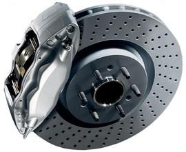 Тормозные диски GLE63 AMG с колодками