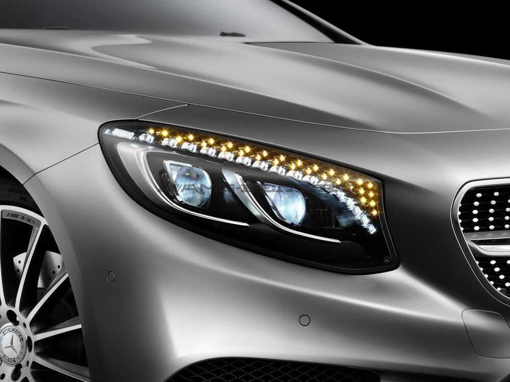 Фары Swarovski C217 Mercedes W217