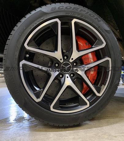 Карбон керамика NEW W463 Mercedes G63 AMG