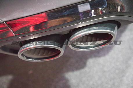 Система выхлопа GLE 53 AMG Performance