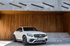 Обвес GLC 63 AMG Coupe Mercedes
