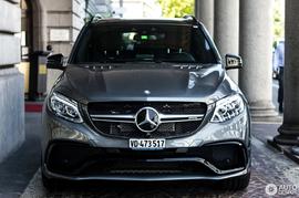 Рестайлинг ML в GLE 63 AMG Mercedes W166