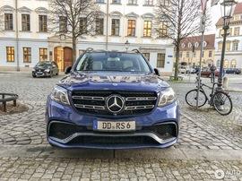 Обвес GLS 63 AMG Mercedes X166
