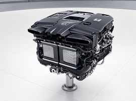 Двигатель M177 G63 C63 E63 GLC63 S63 AMG