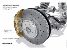 Суппорта W222 керамика S63 AMG