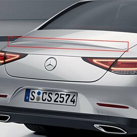 REAR SPOILER CLS C257 MERCEDES-BENZ