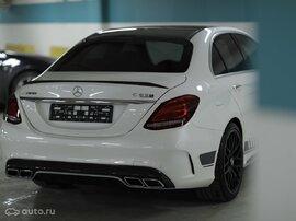 Спойлер C63 AMG W205 Mercedes